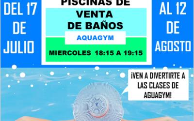 """Muévete con Diputación: """"Aquagym"""""""