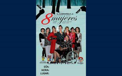 """Teatro """"8 mujeres"""""""