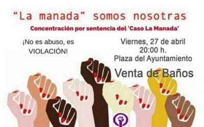 """Concentración Caso """"La Manada"""""""