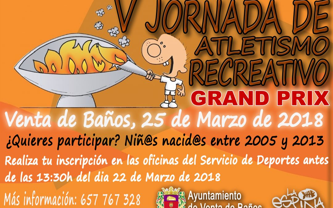 V Jornada de Atletismo Recreativo