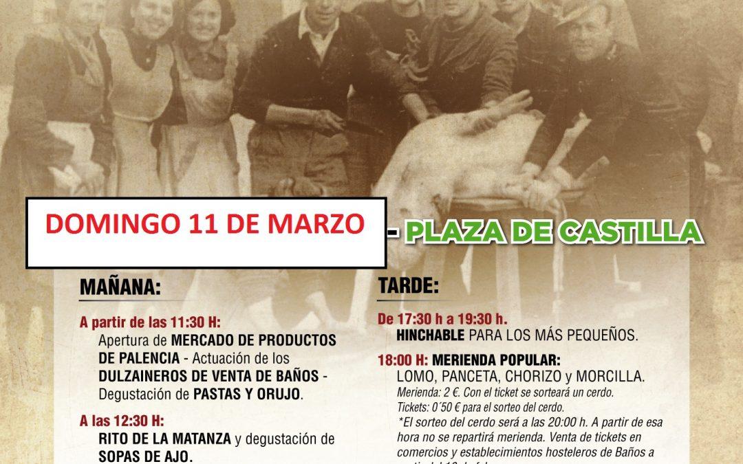 Aplazada la Matanza del Cerdo al domingo 11
