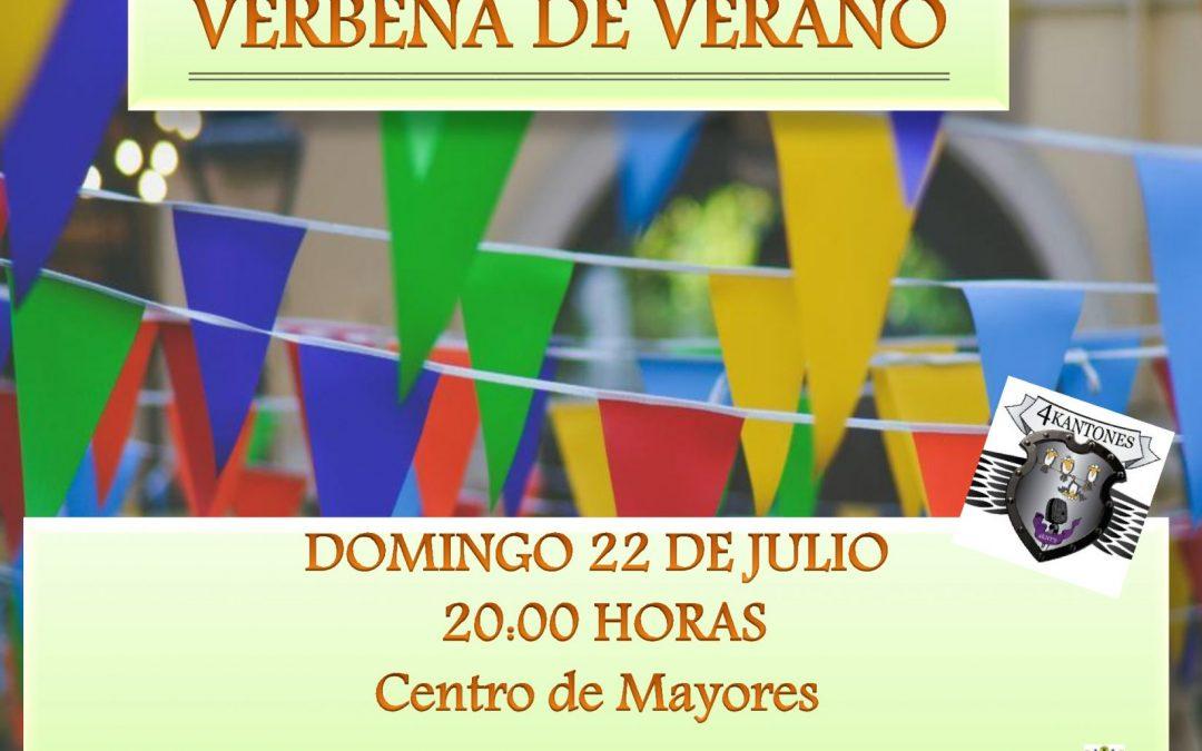 VERBENA DE VERANO, en el Centro de Mayores