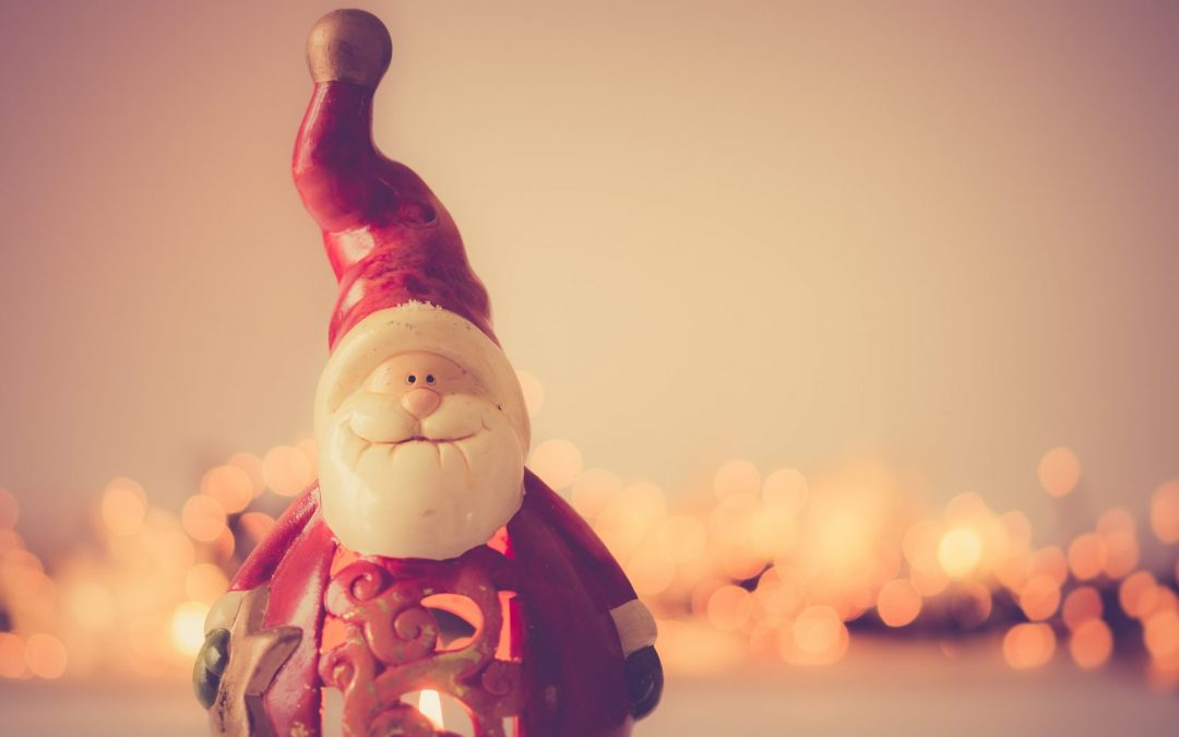 Papá Noel visita Venta de Baños