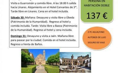Excursión a Guarromán, Úbeda, Baeza y Jaén.