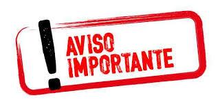 AVISO IMPORTANTE FRONTÓN MUNICIPAL Y PATIO INSTITUTO VIEJO