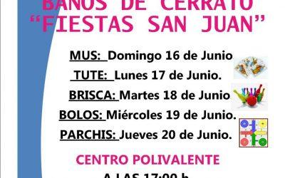 Campeonatos. Fiestas San Juan. Baños de Cerrato.