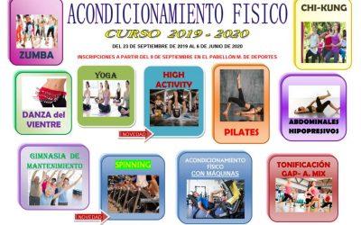 Acondicionamiento Físico 2019-2020