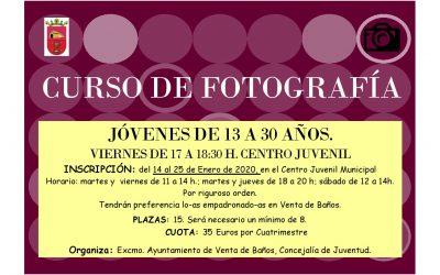 Curso de Fotografía. Juventud