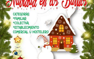 """Concurso de Decoración Navideña """"Navidad en los Barrios"""""""