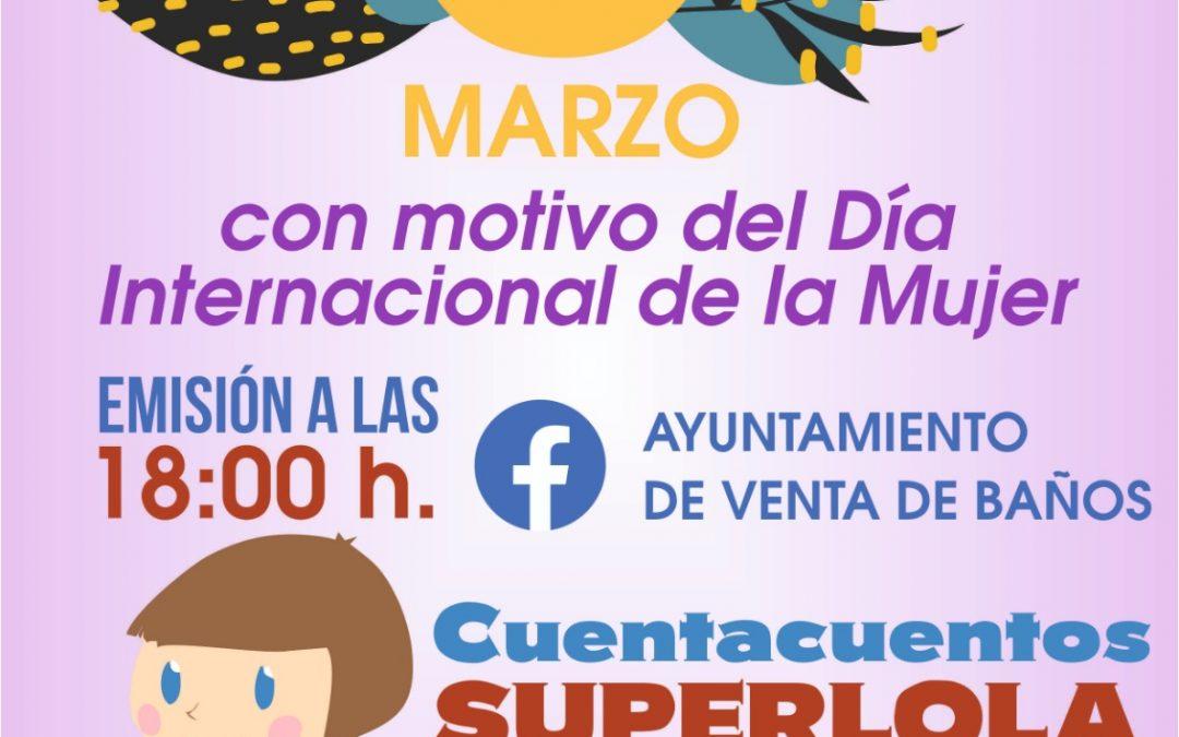 Cuentacuentos y Taller de Pins: Día Internacional de la Mujer.