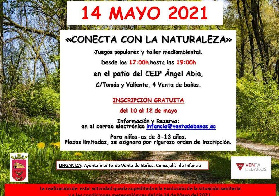 Juegos populares y taller medioambiental 14 Mayo 2021