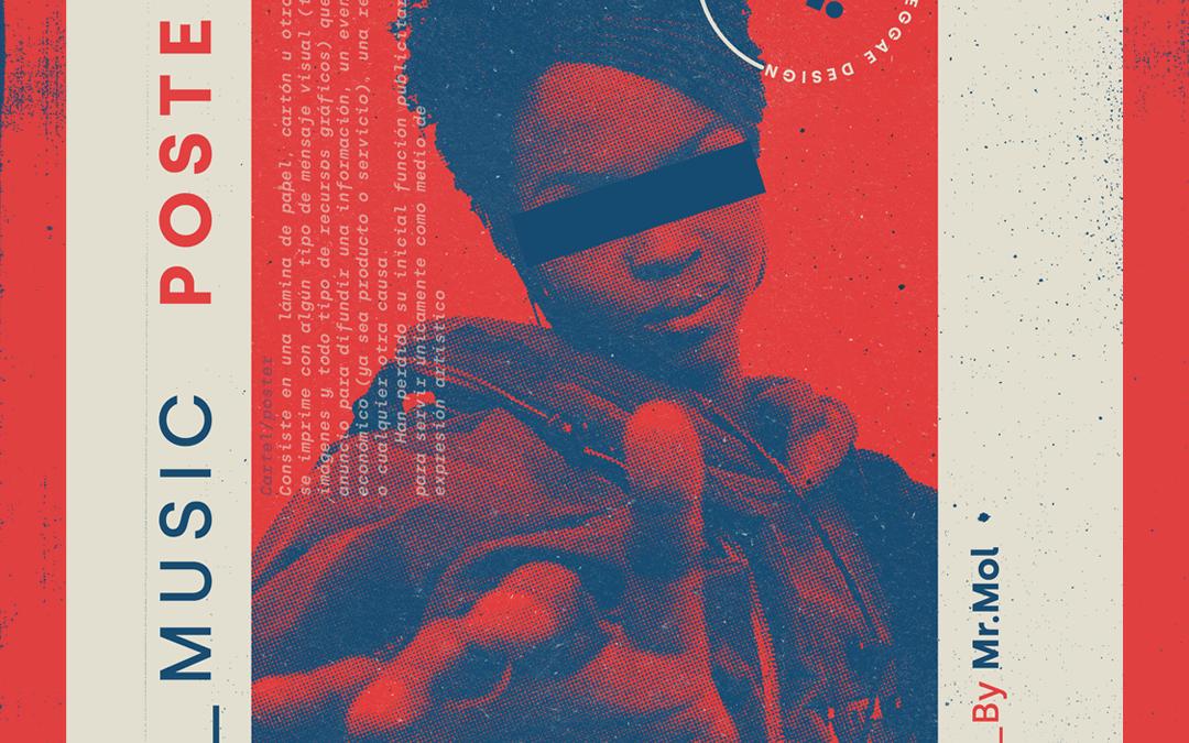 """Exposición """"Music Poster""""."""