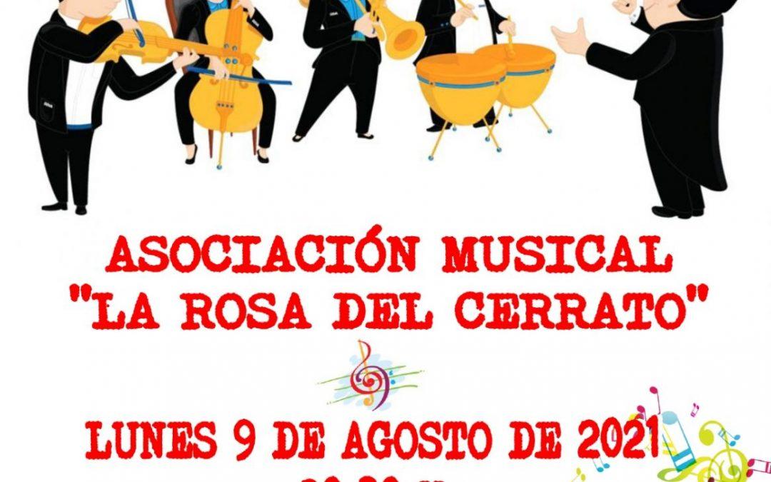 """CONCIERTO ASOCIACIÓN MUSICAL """"LA ROSA DEL CERRATO"""""""