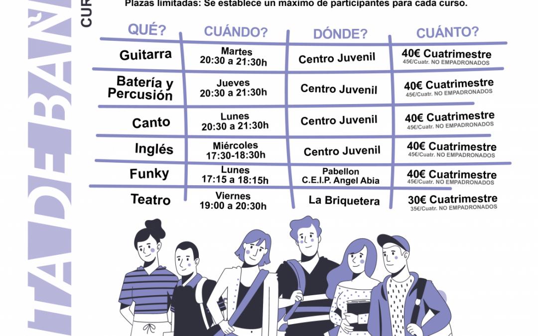 Actividades Juveniles. Curso 2021-2022.